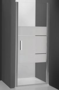 Tower Line TCN1/1000 Профиль brillant/стекло прозрачноеДушевые ограждения<br>Душевая дверь Roltechnik Tower Line TCN1/1000.  Ширина входа 880 мм.Толщина стекла 6 мм. Дверь открывается внутрь и наружу. Ручки и петли интегрированные изготовлены из полированного алюминия. Уплотнители высокоэластичные герметичные.  Дверь предназначена для установки в проём.<br>
