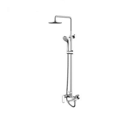 Opal R F6125183CP-A2-RUS ХромДушевые системы<br>Душевая колонна со смесителем для ванны Bravat Opal R F6125183CP-A2-RUS. В комплект входит смеситель для ванны, поворотный излив (верхний душ круглой формы), душевая стойка, шланг для душа, настенный держатель.<br>
