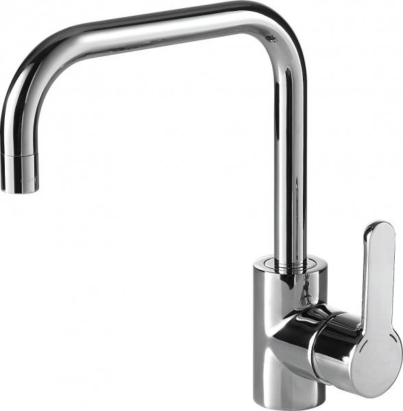 Смеситель для кухни Bravat Stream F73783C-1 Хром