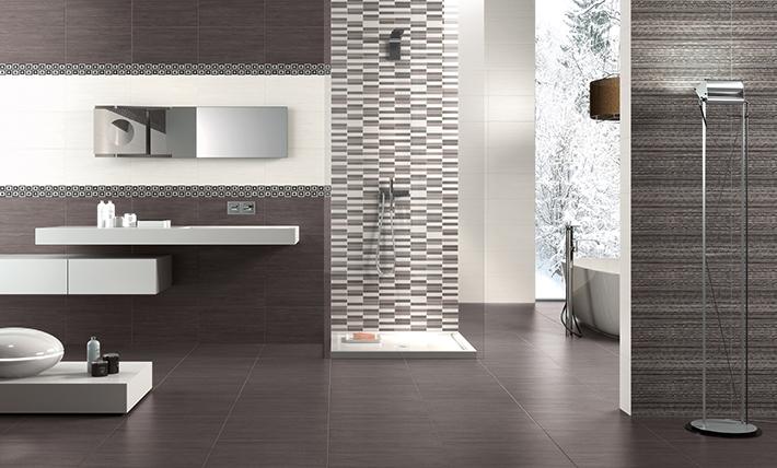 Керамическая плитка Naxos Ceramica Clio Brown 25х45 настенная цена