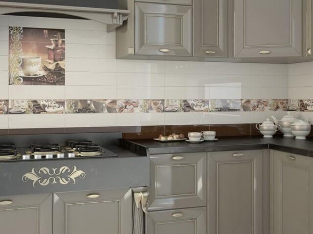 Керамическая плитка Monopole Ceramica Colazione Decorado Latte 10х40 декор цена