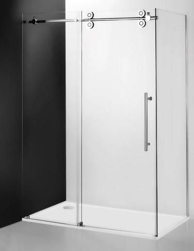 Kinedoor Line KIB/1000 Профиль brillant/стекло прозрачноеДушевые ограждения<br>Боковая стенка Roltechnik Kinedoor Line 1000. Безопасное прозрачное стекло 8 мм.  В комбинации с неподвижной стенкой KIB используются душевые двери.<br>