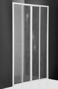 Classic Line CD4/1400 профиль белый/стекло barkДушевые ограждения<br>Душевая дверь Roltechnik Classic Line CD4/1400. Стенки 3 мм полистерол bark (рисунок - кора). Ширина входа 575 мм. Профиль white - белый крашеный алюминий. Стекло Nanoglass 2-го поколения, универсальная обработка керамики и поверхностей стекла, которая препятствует оседанию на них водного камня имеет высокую механическую стойкость не подвержено истиранию. Защелки в цвет профиля магнитные. Уплотнители высокоэластичные герметичные.<br>