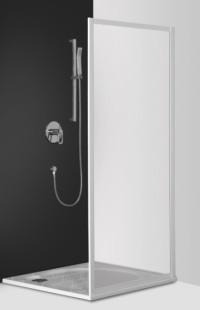 Classic Line CDB/900 профиль white/стекло barkДушевые ограждения<br>Неподвижная боковая стенка Roltechnik Classic Line CDB/800. Толщина стекла 3 мм. Стенка полистерол bark (рисунок - кора). Профиль white - белый крашеный алюминий. Стекло Nanoglass 2-го поколения, универсальная обработка керамики и поверхностей стекла, которая препятствует оседанию на них водного камня имеет высокую механическую стойкость не подвержено истиранию. Защелки в цвет профиля магнитные. Уплотнители высокоэластичные герметичные. До душевого уголка дополняется душевой дверью.<br>