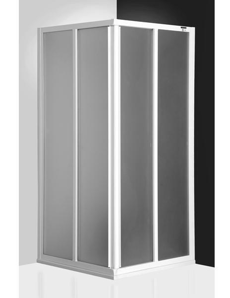Classic Line CS2/900 профиль белый/стекло chinchillaДушевые ограждения<br>Душевой уголок Roltechnik Classic Line CS2/900 с двумя раздвижными дверями  с угловым входом. В качестве третьей стенки может быть использована перегородка CSB. Ширина входа: 470 мм.  Стенка безопасное стекло chinchilla (рисунок). Профиль white - белый крашеный алюминий. Nanoglass 2-го поколения – это универсальная обработка керамики и поверхностей стекла, которая препятствует оседанию на них водного камня. Покрытие Nanoglass имеет высокую механическую стойкость, не подвержено истиранию.<br>