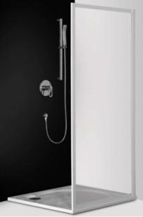 Classic Line CSB/800 профиль белый/стекло transparentДушевые ограждения<br>Боковая стенка Roltechnik Classic Line CSB/800. Может использоваться как самостоятельное изделие или дополнить третьей стенкой душевые уголки CR2 и CS2. Стенка безопасное стекло transparent. Профиль white - белый крашеный алюминий.  Nanoglass 2-го поколения – это универсальная обработка керамики и поверхностей стекла, которая препятствует оседанию на них водного камня. Покрытие Nanoglass имеет высокую механическую стойкость, не подвержено истиранию.<br>
