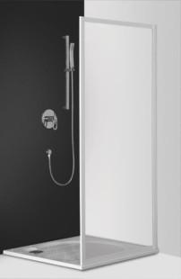 Classic Line PSB/800 профиль белый/стекло rugiadaДушевые ограждения<br>Боковая стенка  Roltechnik Classic Line PSB/800. Стенки 3 мм полистерол rugiada (рисунок - капли). Профиль white - белый крашеный алюминий. Стекло Nanoglass 2-го поколения, универсальная обработка керамики и поверхностей стекла, которая препятствует оседанию на них водного камня имеет высокую механическую стойкость не подвержено истиранию. Защелки в цвет профиля магнитные. Уплотнители высокоэластичные герметичные. До душевого уголка дополняется душевой дверью.<br>