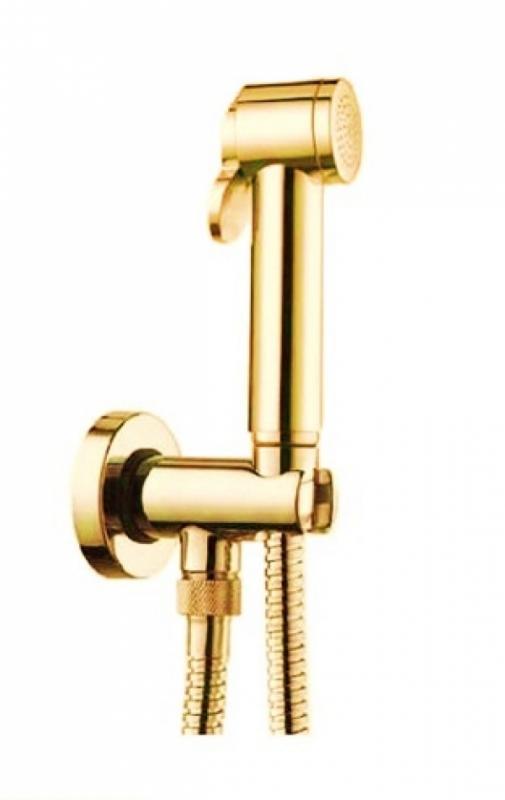 Traum LUX-TRAUM-GL ЗолотоГигиенические души<br>Комплект гигиенического душа SturmTraum LUX-TRAUM-GL. В комплект входит держатель с выходом воды, гигиенический душ из ABS-пластика, шланг из латуни двойного фальцевания 125 см.<br>