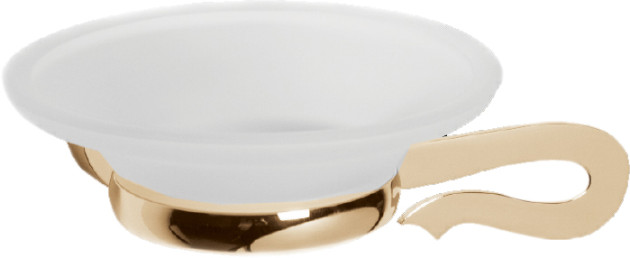 Caprice LUX-CAP-DT233-GLSW золото/swarovskiАксессуары дл ванной<br>Мыльница Sturm Caprice LUX-CAP-DT233-GLSW с кристаллом swarovski.<br>