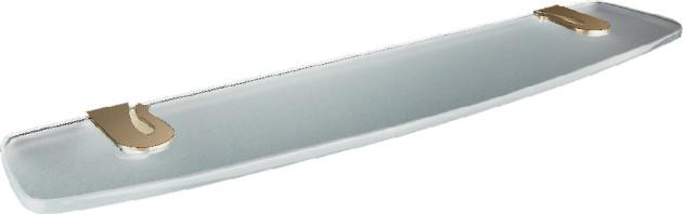 Caprice LUX-CAP-DT1233-GLSW золото/swarovskiАксессуары для ванной<br>Полочка Sturm Caprice LUX-CAP-DT1233-GLSW с кристаллом swarovski.<br>