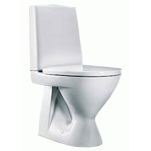 Унитаз Ido Seven D 3961101101 С жестким сиденьем с крышкой