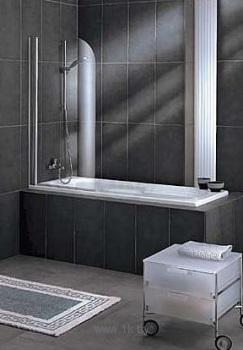 Шторка на ванну Radaway Torrenta PNJ 80 Стекло графитовое L шторка на ванну radaway torrenta pnd 121 стекло графитовое l