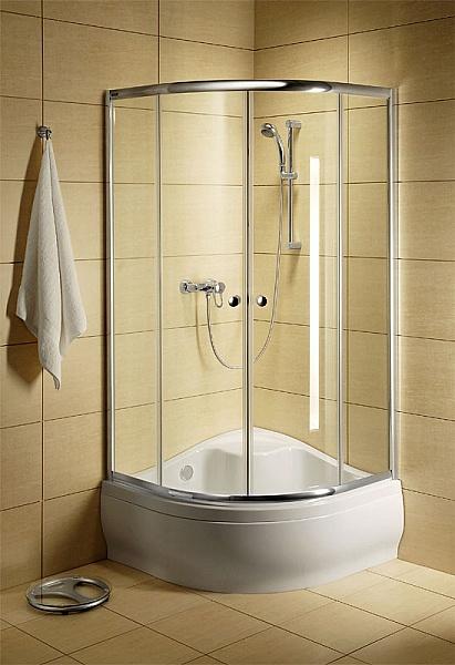 Душевое ограждение Radaway Classic A 1700 90x90 Профиль белый стекло фабрик
