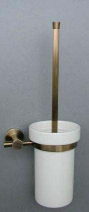 Decore 55.37.04  БронзаАксессуары для ванной<br>MANZZARO Decore 55.37.04 Держатель щетки<br>
