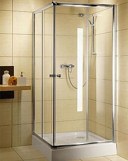 Душевое ограждение Radaway Classic C 1850 90x90 Профиль белый стекло графит triton орион 2 90x90 лен графит