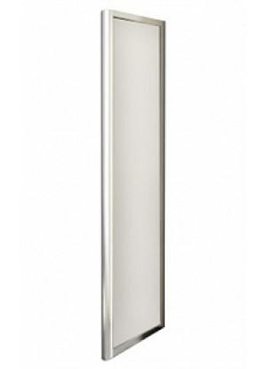 Lybre 1000x2000 профиль scotch brite титан/стекло прозрачноеДушевые ограждения<br>Фиксированная боковая стенка Sturm Lybre LRF1IR09790TR, размер 1000x2000 мм.<br>