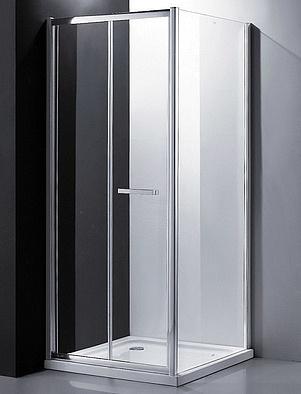Nobile EF-6030T Профиль хром, стекло прозрачноеДушевые ограждения<br>Душевой уголок Edelform Nobile EF-6030T, дверная ручка из анодированного алюминия, цвет хром, закаленное прозрачное стекло 6 мм, сложение двери внутрь ограждения.<br>
