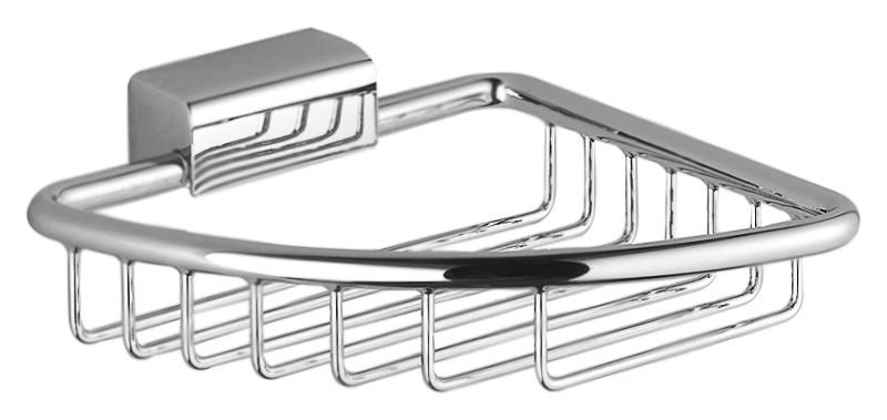 Madison Flair 83.281.530.00 хромАксессуары для ванной<br>Настенная мыльница Dornbracht Madison Flair 83.281.530.00 угловая, из хромированного металла. Цена указана за мыльницу и комплект креплений. Все остальное приобретается дополнительно.<br>