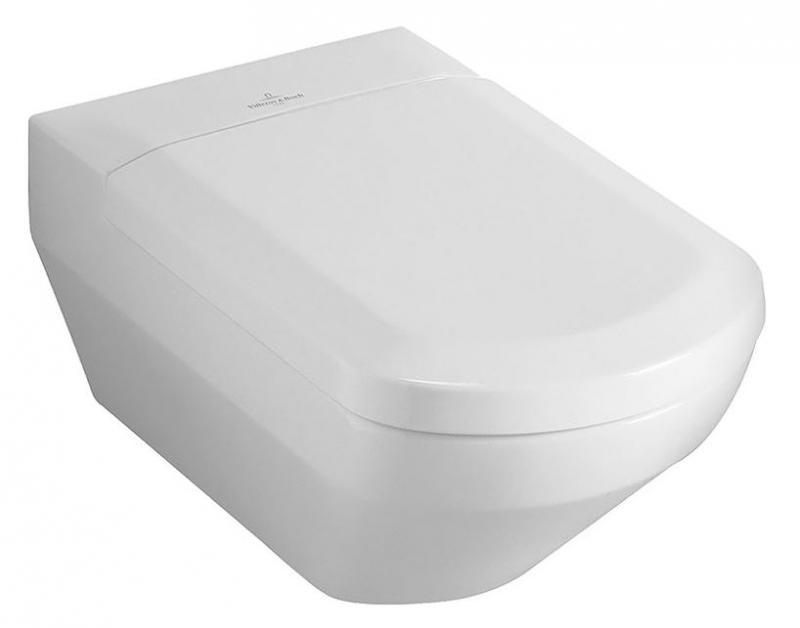 Sentique 562210R2 Белый старвайтУнитазы<br>Унитаз подвесной Villeroy &amp; Boch Sentique 562210R2. Горизонтальный выпуск. Комплект креплений. Покрытие Ceramic Plus - особо гладкая поверхность, на которой не остаются загрязнения и пыль. Цвет белый старвайт.<br>