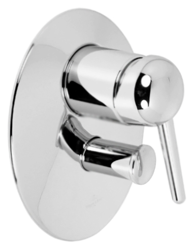 Source 36.115.940.00 хромСмесители<br>Встраиваемый смеситель для ванны Dornbracht Source 36.115.940.00 однорычажный, без душевого гарнитура, с автоматическим переключателем душ/излив, с защитой от коррозии, изготовлен из высококачественной латуни. Цена указана за внешнюю часть смесителя и комплект крепления. Внутренняя часть и все остальное приобретается дополнительно.<br>