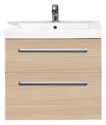2Day2 A98000E9 подвесная Светлое деревоМебель для ванной<br>Тумба под раковину Villeroy &amp; Boch 2Day2 A98000E9 подвесная. С двумя выдвижными ящиками, с системой плавного закрывания soft-close. Ручка, цвет матовое серебро, комплект креплений. Цвет изделия светлое дерево.<br>