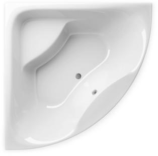 Акриловая ванна Alpen Indiana 140x140 Белая
