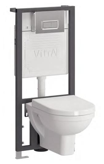 Form 300 9812B003-7203 подвесной с сиденьем МикролифтУнитазы<br> Унитаз Vitra Form 300 9812B003-7203 с инсталляцией.<br> В комплекте: <br><br>сиденье с микролифтом; <br>инсталляция 742-5800-01; <br> панель управления 740-0680. <br><br>