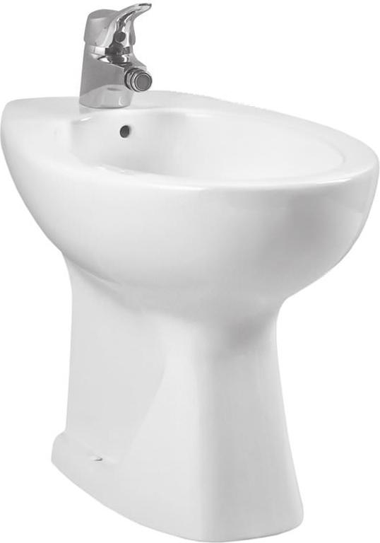 Normus 6578B003-0068 напольное БелоеБиде<br>Биде Vitra Normus 6578B003-0068 напольное.<br>Современный дизайн изделия прекрасно впишется в интерьер любой ванной комнаты.<br>Материал: санфарфор толщиной 18 мм, не впитывающий грязь.<br>Одно отверстие под смеситель.<br>Слив-перелив.<br>