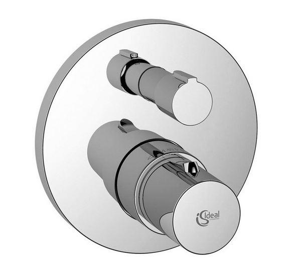 Смеситель Ideal Standard Celia A4890AA функциональный комплект + накладка для настенного монтажа