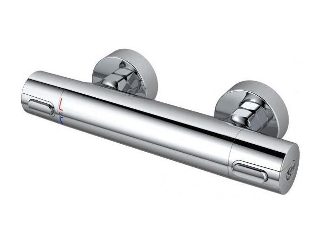 Смеситель для душа Ideal Standard Ceratherm 100 New A4618AA с термостатом Хром