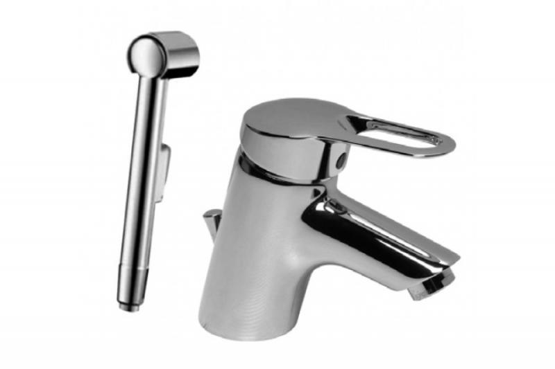 San Remo B7653AA С гигиеническим душемСмесители<br>Смеситель Ideal Standard San Remo B7653AA для умывальника с гигиеническим душем. Все дополнительные комплектующие приобретаются отдельно.<br>