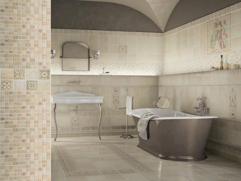 Керамическая плитка Alta Ceramica Affreschi Mosaico Castelli Lux 30х30 декор (мозаика) керамическая мозаика alta ceramica castelli lux 30х30 см