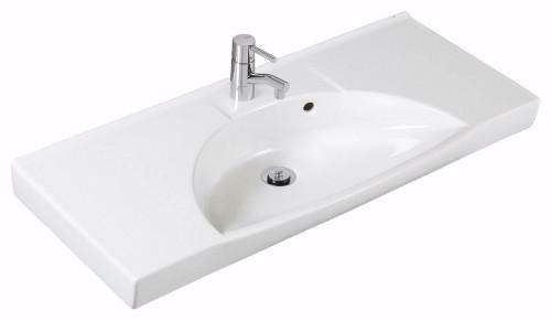 Sign D77820 БелыйРаковины<br>Раковина Ifo Sign D77820. Отверстие под смеситель и чаша расположены посередине.<br>