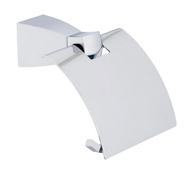 Square 83.510.910.00 ХромАксессуары для ванной<br>Держатель для туалетной бумаги Dornbracht Square 83.510.910.00. Настенный, с крышкой.<br>