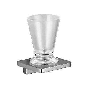LaFleur 83.400.955.00  ХромАксессуары для ванной<br>Стакан Dornbracht LaFleur 83.400.955.00. Стакан стеклянный, подставка - хром.<br>