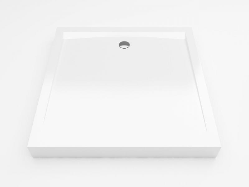 Forma Compact 100 Квадратный высокийДушевые поддоны<br>Душевой поддон Excellent Forma Compact 100x100 см. Квадратный высокий акриловый поддон. В комплекте с экраном и ножками.<br>