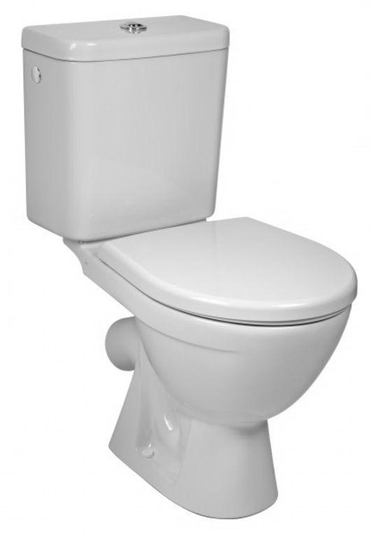 Lyra Plus 8.2638.6.000.242.9 БелыйУнитазы<br>Унитаз напольный Jika Lyra Plus 8.2638.6.000.242.9. комбинированный с горизонтальным выпуском и нижним подводом воды. Цвет белый.<br>