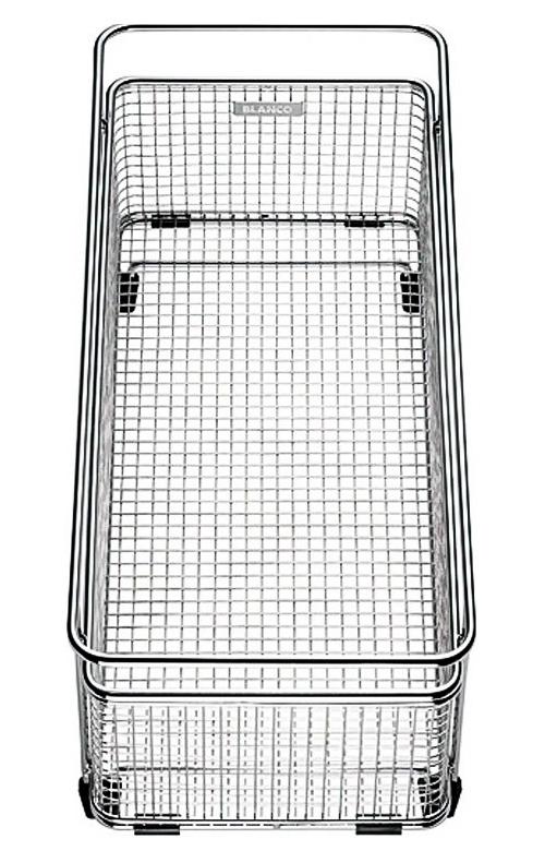 223297 хромКухонные мойки<br>Корзина для сушки посуды с держателями Blanco 223297. Цена указана за корзину. Все остальное приобретается дополнительно.<br>