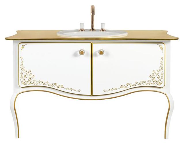 Amadea Royal B65000GL ослепительно-белаяМебель для ванной<br>Тумба под раковину для настенного монтажа Villeroy&amp;Boch Amadea Royal B65000GL. Цена указана за тумбу. Все остальное приобретается дополнительно.<br>