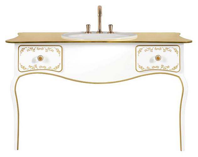 Amadea Royal B65100GL ослепительно-белаяМебель для ванной<br>Тумба под раковину для настенного монтажа Villeroy&amp;Boch Amadea Royal B65100GL. Цена указана за тумбу. Все остальное приобретается дополнительно.<br>