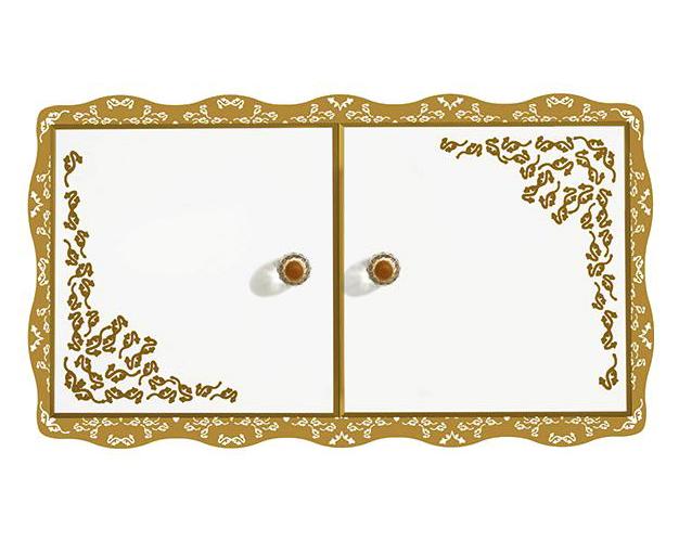 Amadea Royal B65500GL ослепительно-белыйМебель для ванной<br>Подвесной шкаф Villeroy&amp;Boch Amadea Royal B65500GL со светодиодной подсветкой. Цена указана за шкаф. Все остальное приобретается дополнительно.<br>