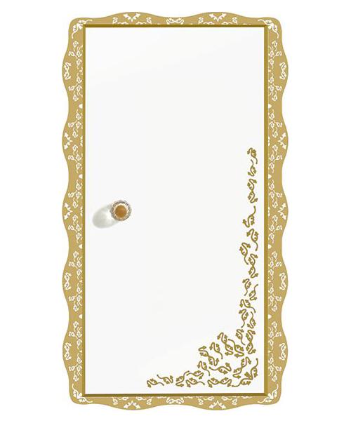Amadea Royal B654 ослепительно-белый, правыйМебель для ванной<br>Подвесной шкаф Villeroy&amp;Boch Amadea Royal B65401GL со светодиодной подсветкой, петли справа. Боковые части имеют зеркала снаружи. Цена указана за шкаф. Все остальное приобретается дополнительно.<br>