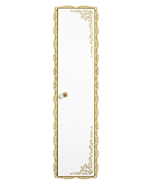 Amadea Royal B653 ослепительно-белый, правыйМебель для ванной<br>Пенал Villeroy&amp;Boch Amadea Royal B65301GL со светодиодной подсветкой, петли справа. Боковые части имеют зеркала снаружи. Цена указана за пенал. Все остальное приобретается дополнительно.<br>