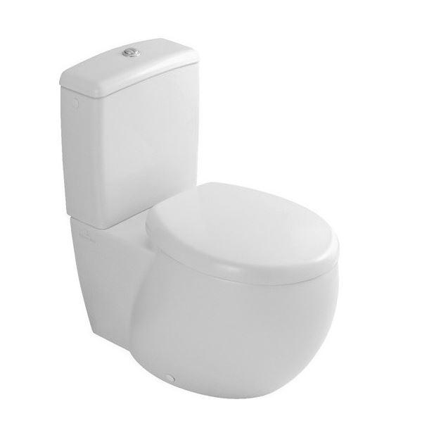Aveo 661410R1 Белый альпинУнитазы<br>Унитаз Villeroy &amp; Boch Aveo 661410R1. Напольная модель, пристенная установка, горизонтальный выпуск, крепежный комплект для скрытого монтажа входит в комплект поставки, рекомендация: монтаж с расстоянием от стены: 15 мм.<br>