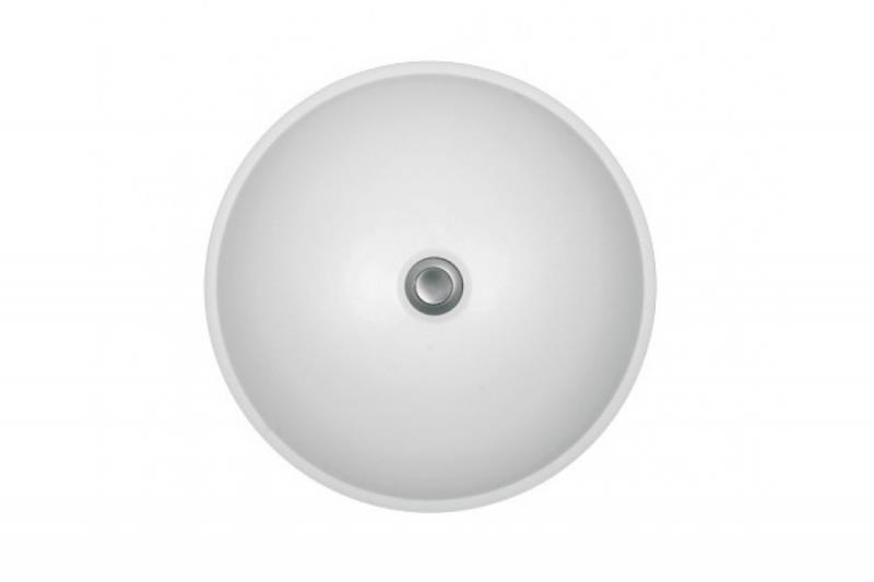 Keri БелаяРаковины<br>Раковина Colpa San Keri с переливом диаметром 45 мм.<br>