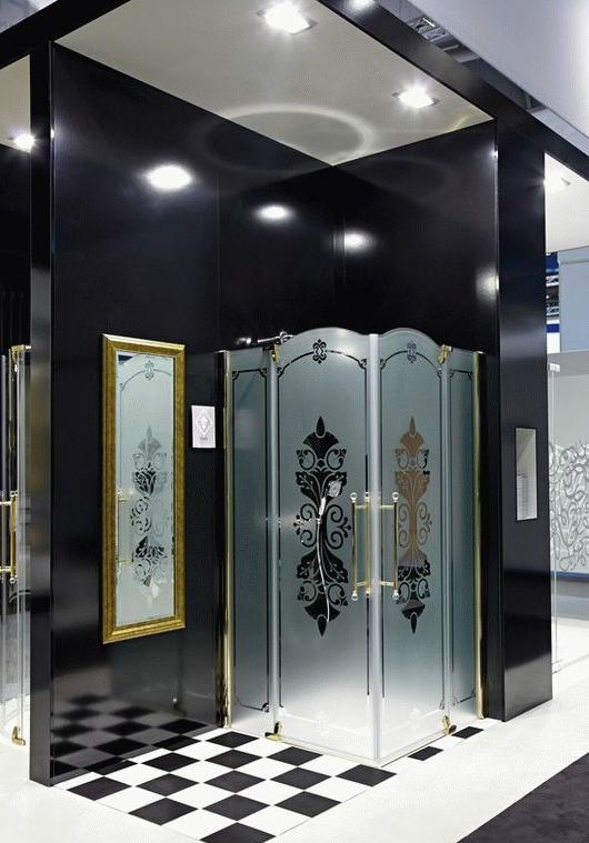 Design Victorian DV0302.092.344 ХромДушевые ограждения<br>Дверь с непрозрачным сегментом HUPPE DESIGN VICTORIAN, левая. Цвет хром.<br>