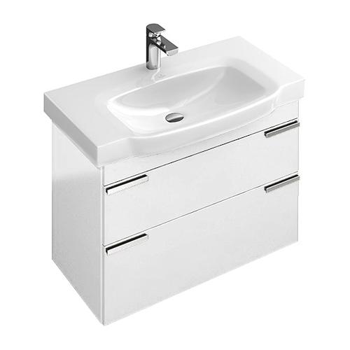 Sentique A85400 подвесная вяз импрессоМебель для ванной<br>Тумба под раковину Villeroy&amp;Boch Sentique A85400PN, вяз импрессо.<br>