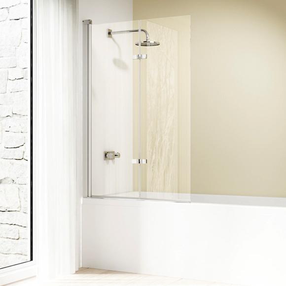 Design Elegance 8E2402.087.321 Профиль матовое серебро, прозрачное стекло, левая.Душевые ограждения<br>Душевая шторка Huppe Design elegance с профилем матовое серебро и прозрачным стеклом. Количество секций двери 2.<br>