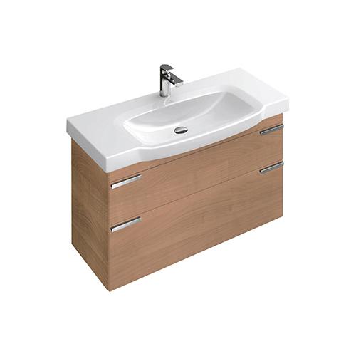 Sentique A85300 подвесная терра матовыйМебель для ванной<br>Тумба под раковину Villeroy&amp;Boch Sentique A85300N9, терра матовый.<br>