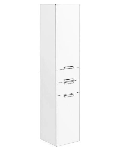 Шкаф пенал Villeroy&Boch Sentique 35 подвесной белый глянцевый, левый шкаф пенал bellezza рокко 35 подвесной красный белый
